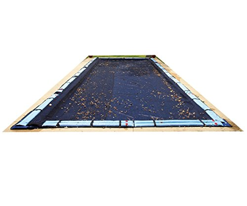 Defender 20' x 40' In-Ground Leaf Net in Black
