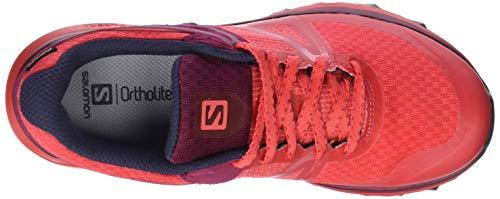 Femme Beet de GTX Salomon Chaussures Hibiscus Trail Trailster Rouge Red Graphite q8pPwS