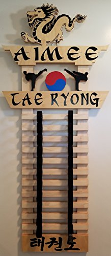 Tae Ryong Collection Martial Arts Belt Display by G3Dzignz