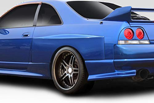 Duraflex Replacement for 1995-1998 Nissan Skyline R33 2DR LDE Wide Body Rear Fender - Duraflex R33 Body 2dr