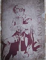 進撃の巨人 セブンイレブン 限定 クリアファイル リヴァイの商品画像