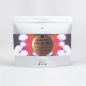 Amazon Com L Organic Cotton Chlorine Free Ultra Thin