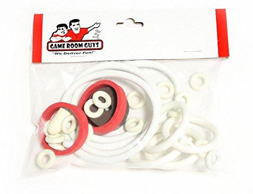 - Game Room Guys Gottlieb Surf Champ Pinball White Rubber Ring Kit
