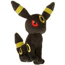 "Umbreon ~9"" Mini-Plush: Pokemon Evolution of Eevee Series"