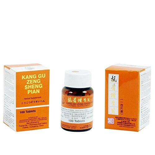 Cheap Kang Gu Zeng Sheng Pian (for Osteoproliferative)- Herbal Supplement, 100 Pills