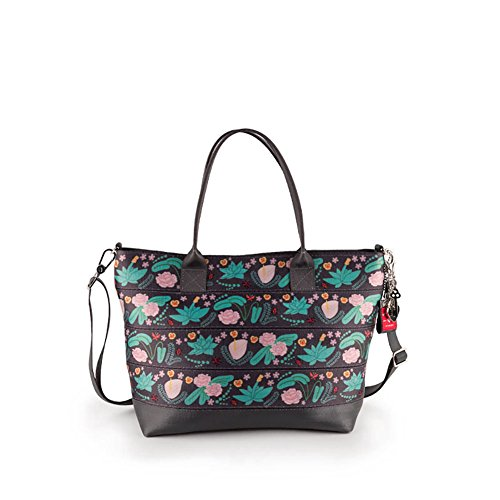 Harveys Seatbelt Bag Women's Mini Streamline Tote Secret Garden One Size ()