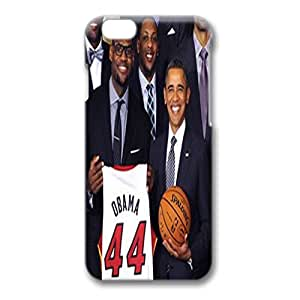 Iphone 6 Case,Hard PC Iphone 6 Protective Case for Ultimate Protect iphone 6 with NBA star and Obama by ruishername