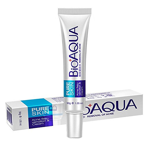 Buy In Pakistan Bioaqua Acne Scar Treatment Natural Blemish Gel Acne Pimple Acne Spot Removal Cream Oil Control Shrink Pores Face Care Cream