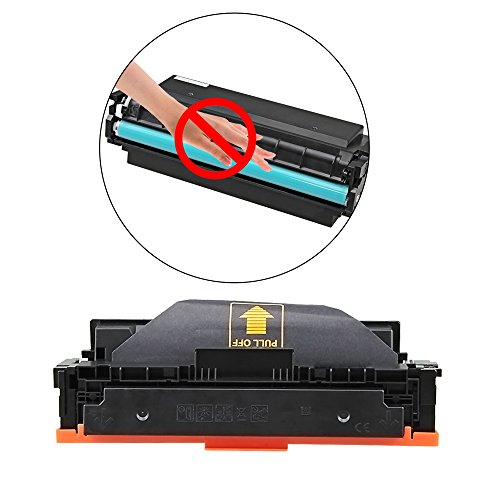 V4INK New Compatible HP 410A CF410A CF411A CF412A CF413A Toner Cartridge for HP Color LaserJet Pro M452dn M452nw M452dw M377dw,MFP M477fdn M477fdw M477fnw (4 Pack - Black/Cyan/Yellow/Magenta) Photo #4