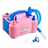 Best Balloon Pumps - MESHA Electric Balloon Inflator Portable Dual Nozzle Electric Review