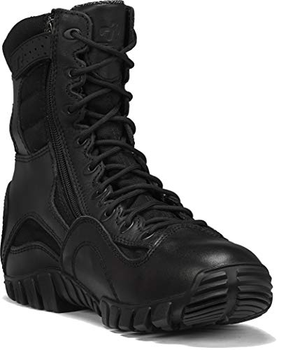 TACTICAL RESEARCH TR Men's Khyber TR960Z WP Lightweight Waterproof Side-Zip Tactical Boot