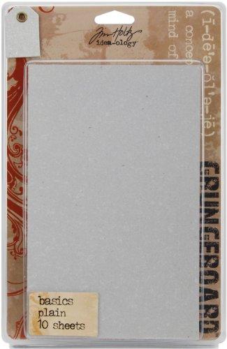 Idea-Ology Grungeboard Basics 5x8 Sheets 10/Pkg-