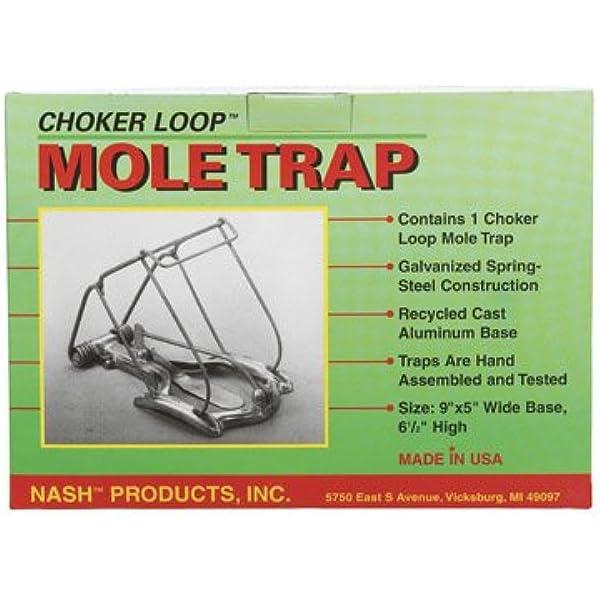 2 ea Nash Products CL-1 Easy Set Mechanical Choker Mole Traps