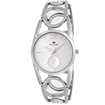 Eddy Hager Silver Dial Women's Watch EH-447-SL