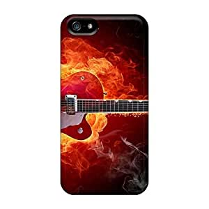 Excellent Hard Cell-phone Cases For Iphone 5/5s (xAL9717kTUa) Allow Personal Design Colorful Metallica Series