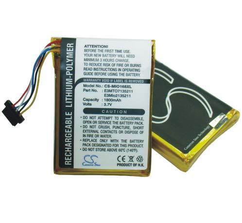 C & S 1800mAh High Capacity Battery Navman PiN Pocket, PiN 100, Pin 300 ()