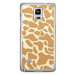 Giraffe Samsung Note 4 Transparent Edge Case - Animal Prints Collection