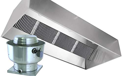 Amazon.com: 4\' Commercial Kitchen Exhaust Hood Vent for Restaurants ...
