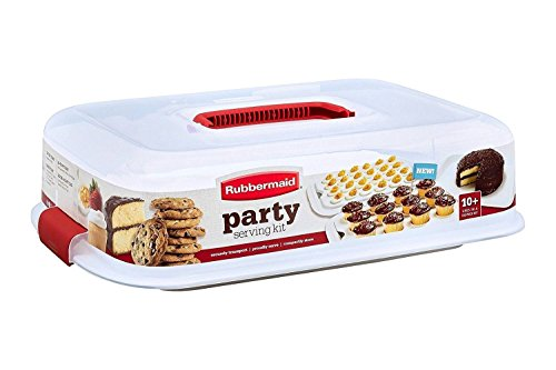 Rubbermaid Cupcake Platter, Party Serving Kit (Cupcake Tray)