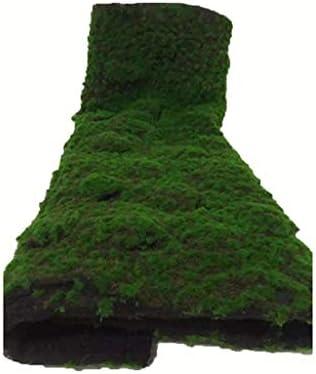 人工的な芝生、人工的なコケのマットのシミュレーションの緑の壁のコケの屋内/屋外の装飾 (Size : 3piece)