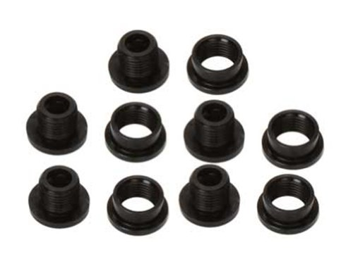 Double Alloy Chainring Bolts - 6
