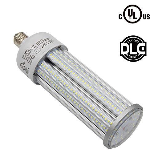 Caree-LED 54w Led Corn cob Light Bulb E39 Base,7600lm,CFL HID HPS Metal Halide Replacement(200w) for Street and Area Light Acorn shoebox Fixture Warehouse High Bay Parking Lot Garage Light (54)