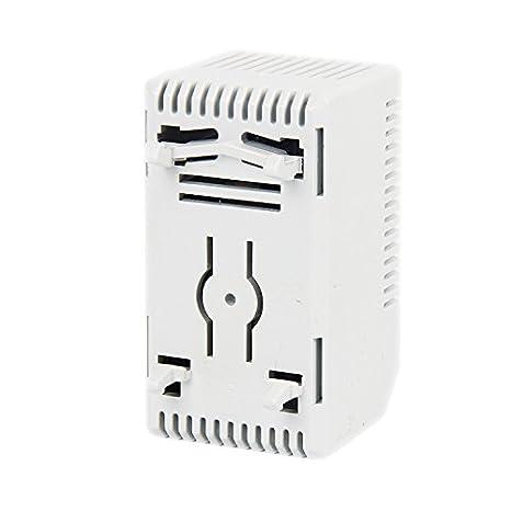 peque/ño compacto; controlador de temperatura de 0 a 60 grados para armario Termostato mec/ánico ajustable Langir