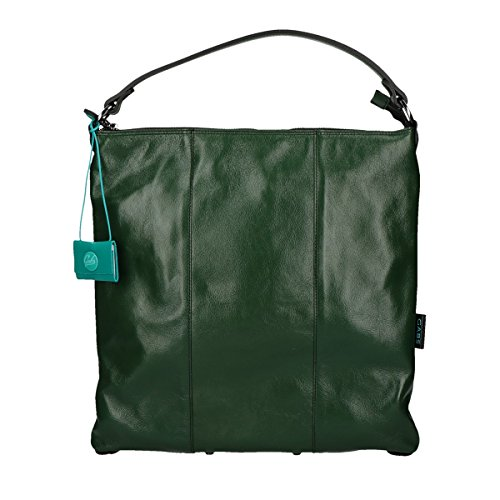 Gabs Sofia shoulder bag trasformable calf leather green