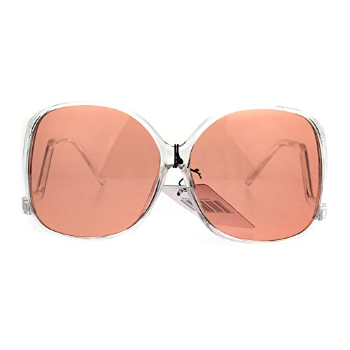 Womens Drop Temple Swan Plastic Butterfly Diva Sunglasses - Sunglasses Swans
