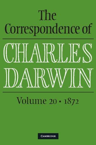 The Correspondence of Charles Darwin: Volume 20, 1872