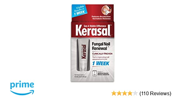 Amazon Com Kerasal Nail Fungal Nail Renewal Treatment 10ml 2 Pack