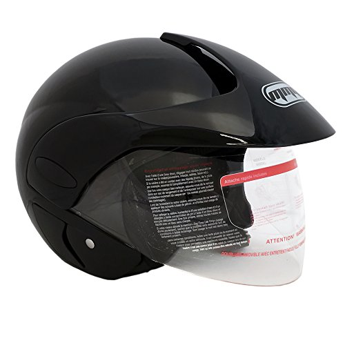 Scooter Helmet With Visor - 3