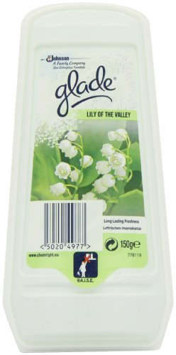 Glade Solid Lilly of The Valley 150 g (Pack of 8) S C Johnson 336106
