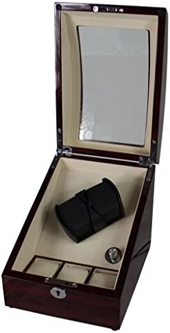 Relojes beweger 5 Pantalla Vitrina Caja Expositor Soporte Watch: Amazon.es: Relojes