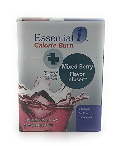 Medifast Essential1 Calorie Burn Mixed Berry Flavor Infuser 1 Box 21 Servings