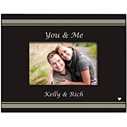 "You & Me Personalized Picture Frame, Holds a 3.5"" x 5"" or 4"" x 6"" Photo"