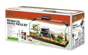 4. Animal Supply Co. En28075 Zilla Rimless 20-gallon Turtle Kit