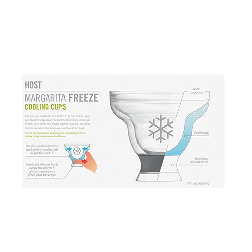 Margarita FREEZE Cooling Cups (set of 2) by HOST by HOST (Image #3)