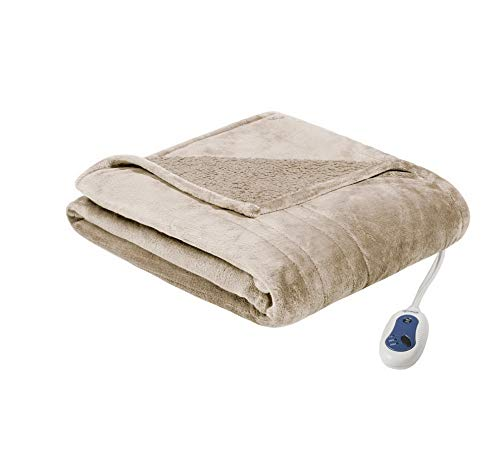 Womens Pant Microlight - Hebel Plush Heated Throw Blanket -Cure Comfort Technology-Oversized 60