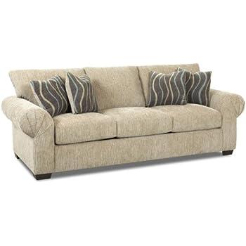 Lovely Klaussner TIBURON Sofa, Putty