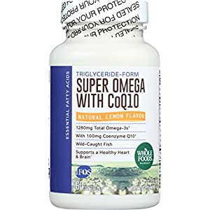 Whole Foods Market, Super Omega + CoQ10, 60 ct