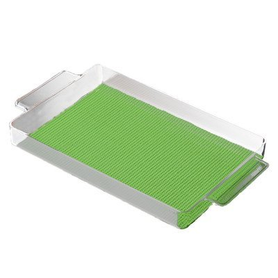 Rectangular Tray in Lime Green