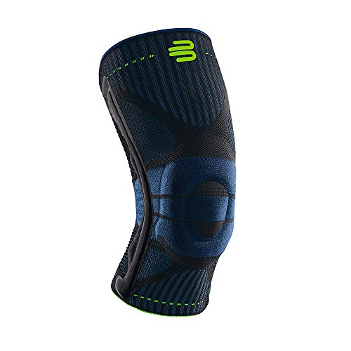 Bauerfeind Sports Knee Support – Breathable Compression (Black, Medium)