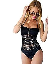 CeRui One Piece Bathing Suits Tankini Swimwear For Women Bikinis