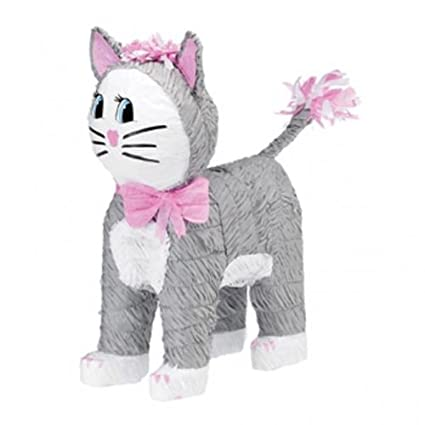 Amazon.com: amscan Pinatas Cat (Grey): Toys & Games