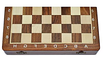 Wooden Magnetic Travelling Chess Set Size 12X12 inch Complete set 2 Queens Extra 34 PCs