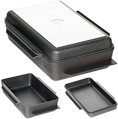 AMT - Fuente de horno XXL rectangular con tapa (aluminio fundido ...