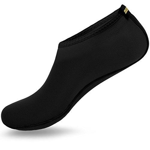 barefoot-water-skin-shoes-aqua-socks-for-beach-swim-surf-yoga-exercise-5xl-us-w910-m89-black
