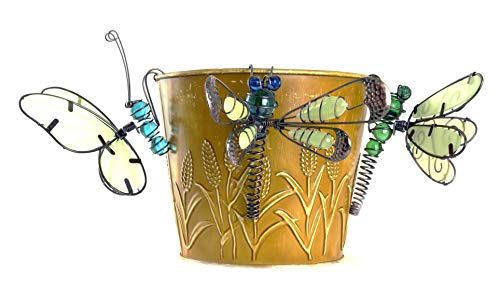 Butterfly & Dragonfly Glow in The Dark Pot Clingers - Set of 3