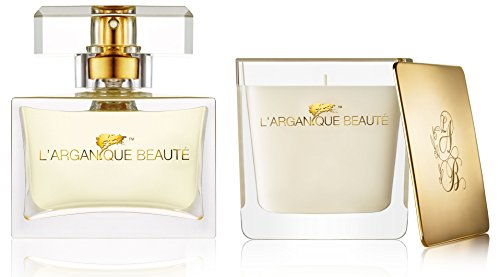 L'arganique Beauté Womens Luxury Travel Gift Set - Eau De...